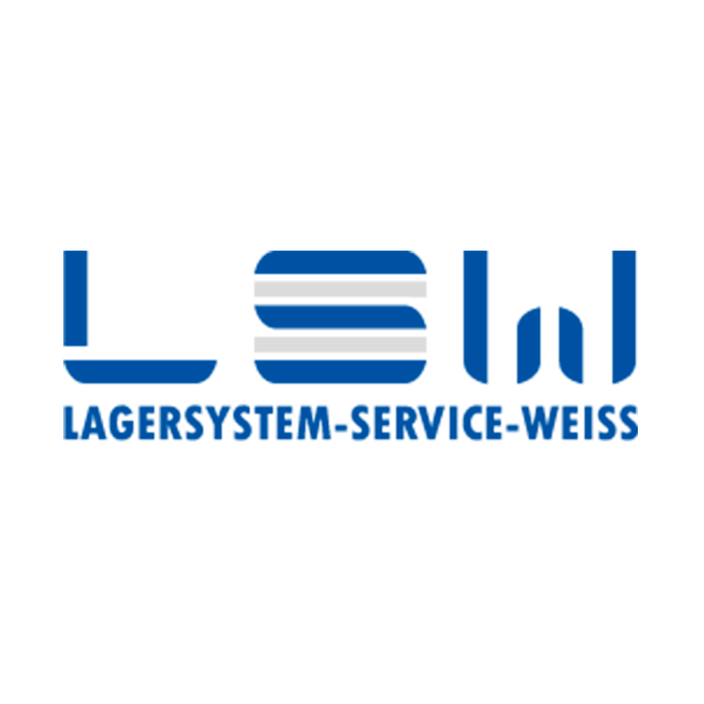 Lager System Weiss
